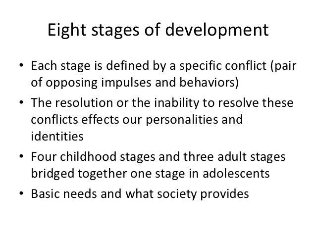Week 6: Psychosocial Development (Erik Erikson)