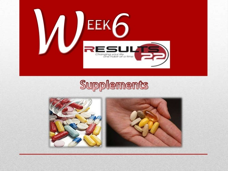 Supplementation is crucial toyour success with Results 22since you will be missing out onsome important fats and othernutr...
