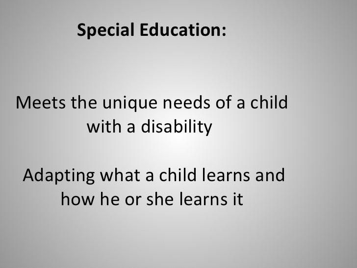 special education lecture notes Lecture notes for special education 205 introduction to serving students with special needs (instructor: thomas e grayson, phd) session 4 - september 16, 1999.