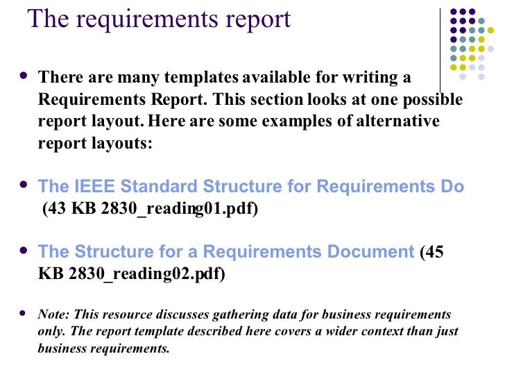 Week7 Submit Analysis And Gain Agreement – Business Report Layout Example