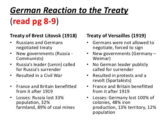 describe the effects of the treaty Start studying #2: the impact of the treaty of versailles on germany, 1919-1933 mzv learn vocabulary, terms, and more with flashcards, games, and other study tools.