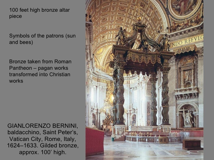 Week9 17thand18th c for Baroque architecture characteristics list