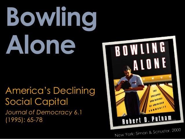 putnams bowling alone thesis