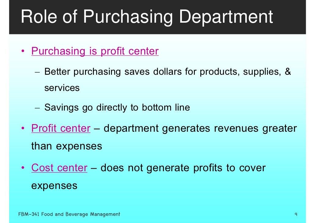Week 7 Procurement Purchasing Receiving And Storing 3 2552 – Purchasing Clerk Job Description