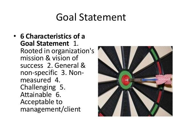 Goal Statement • Reputation Management: enhancing image • Relationship Management: fostering connections • Task Management...