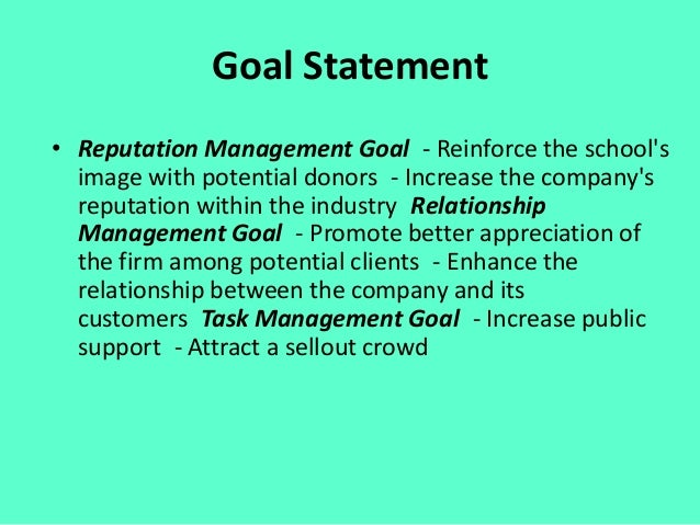 Objectives • 1. Rooted in goals2. Focused on a public3. Results-oriented4. Explicit5. Precise and measurable6. Time-d...
