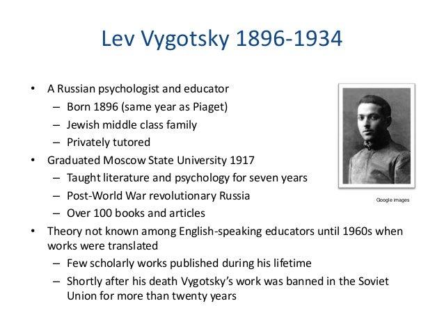 Socio-cultural Development - Vygotsky