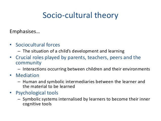 sociocultural influences on english language learners The role of socio-economic factors in motivation to learn english as a foreign language:  language learners has involved participants who study in tertiary.