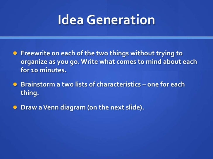 compare and contrast essay directions To write a compare/contrast essay, you'll need to make new connections and/or express new differences between two things the key word hereis new.