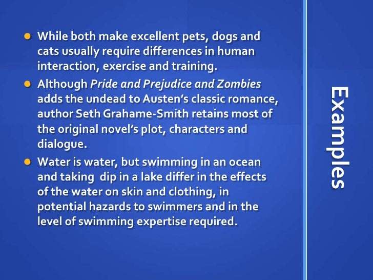 compare contrast essay two pets Check out our top free essays on compare and contrast cats and dogs the two most common pets people compare / contrast essay.