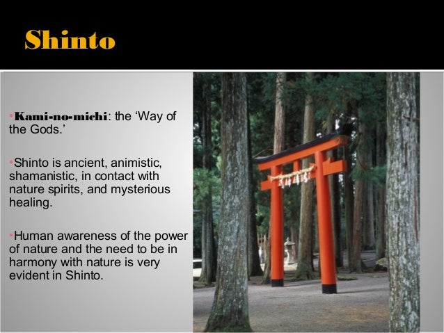 Taoism, Confucianism, Shinto lecture
