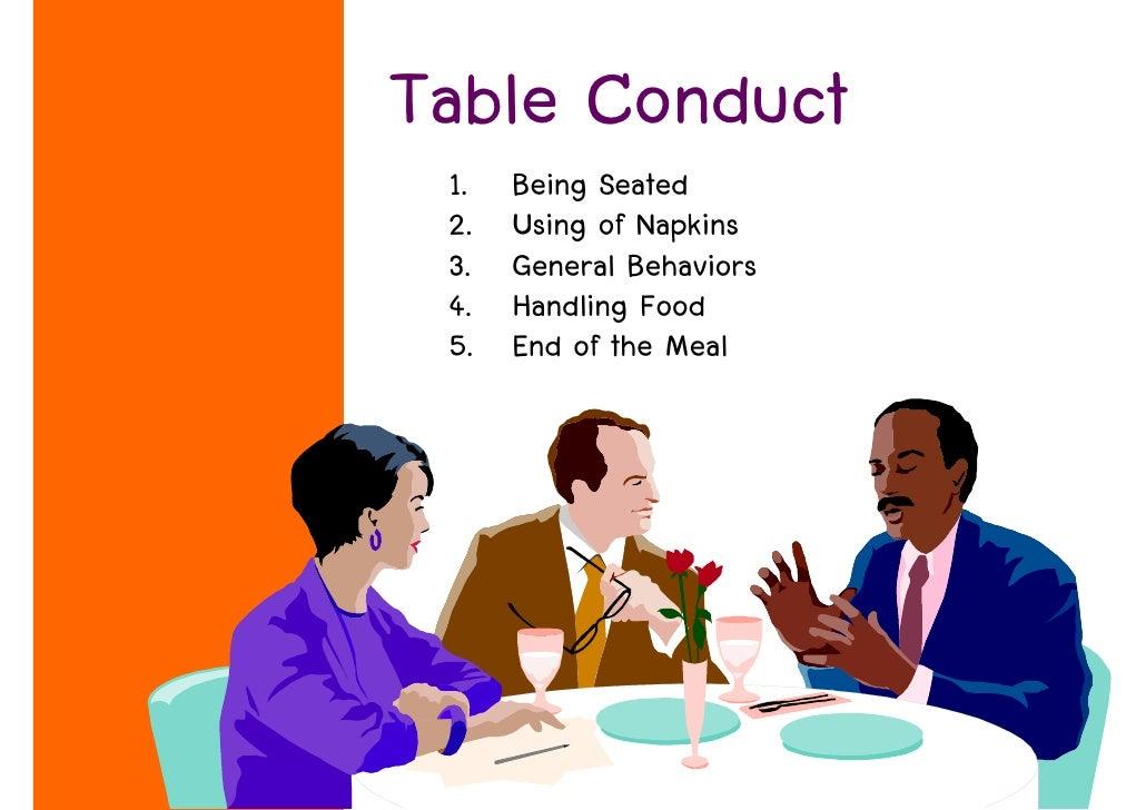 Week 8 Dining Etiquette 3 2552
