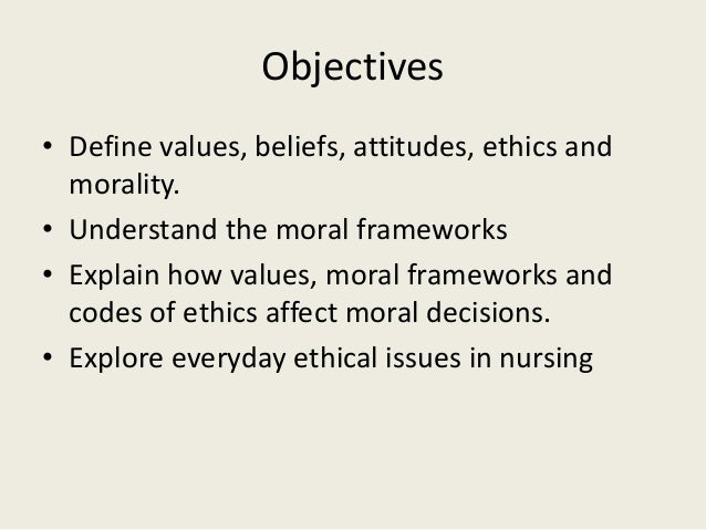 nursing ethical values and definitions essay