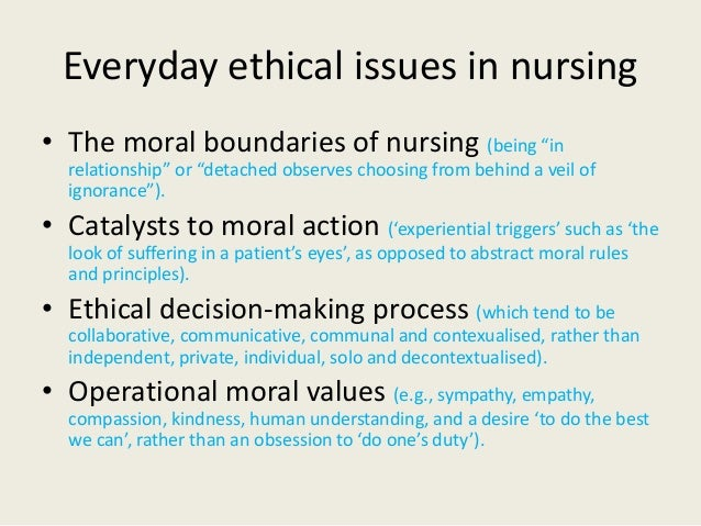 ethical issues in nursing research papers So, i have to write and ethics paper for my maternity class this up and coming semester and i need help finding a topic to write about that would be easy to research it doesnt really have to do with maternity nursing or anything just has to tie in to nursing in some way sooooo any help would be.