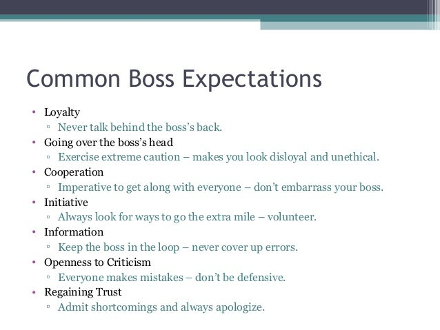 Ethics of dating your boss