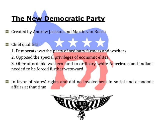 What were the differences between the Democrats and the Whigs?