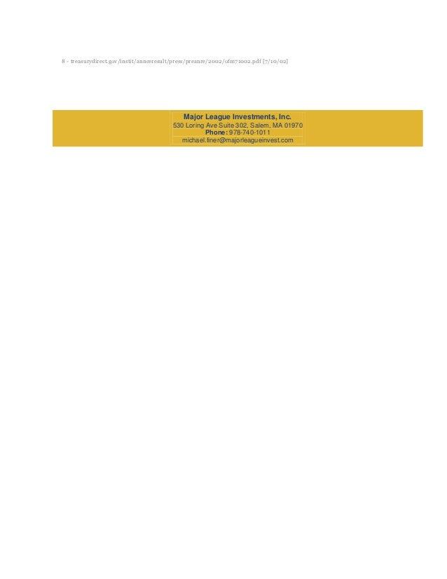 8 - treasurydirect.gov/instit/annceresult/press/preanre/2002/ofm71002.pdf [7/10/02]                                       ...