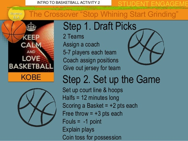 Week Jan 4 2016 Basketball and Genre