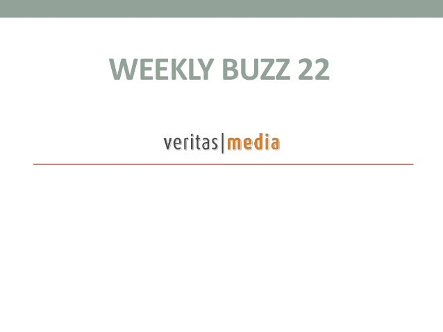 WEEKLY BUZZ 22