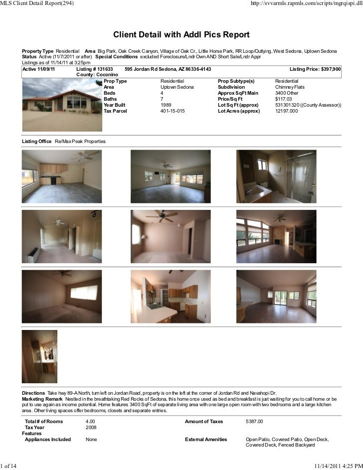 MLS Client Detail Report(294)                                                                                         http...