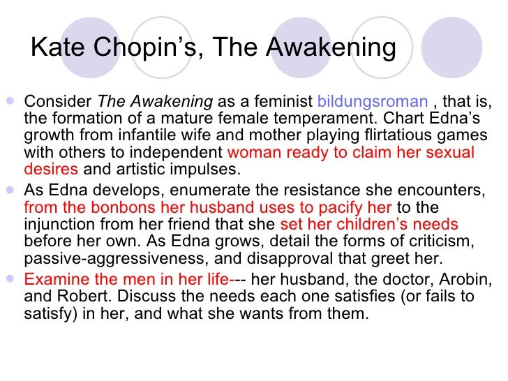 Contradictory impulses in chopins the awakening essay
