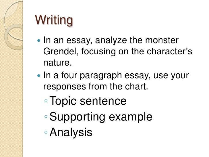 grendel monster essay