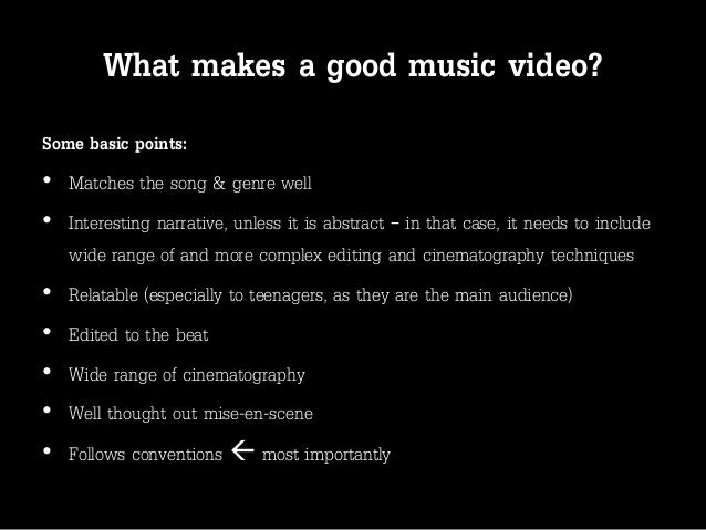 what makes a good musician