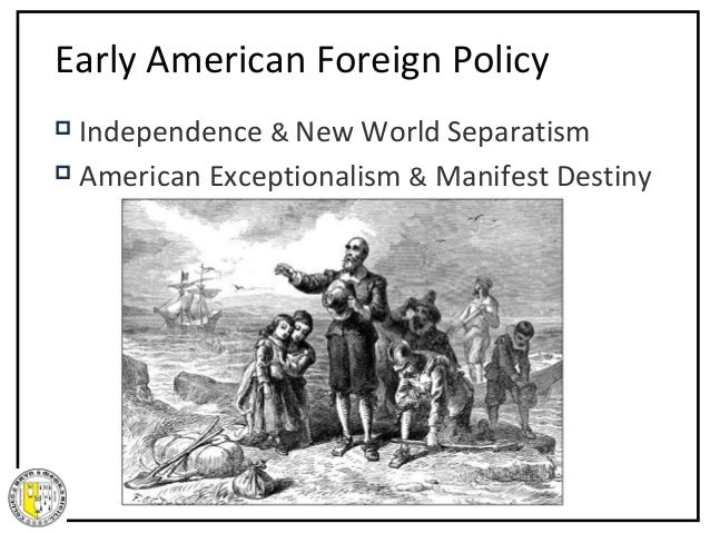American Foreign Policy - Spring 2008