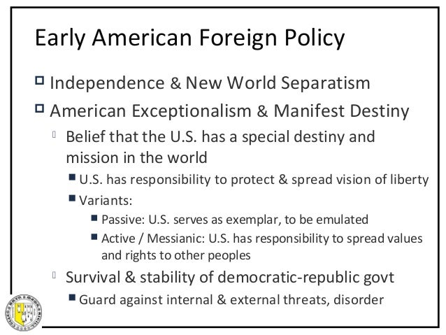 The Doctrine of Discovery, Manifest Destiny, and American Exceptionalism