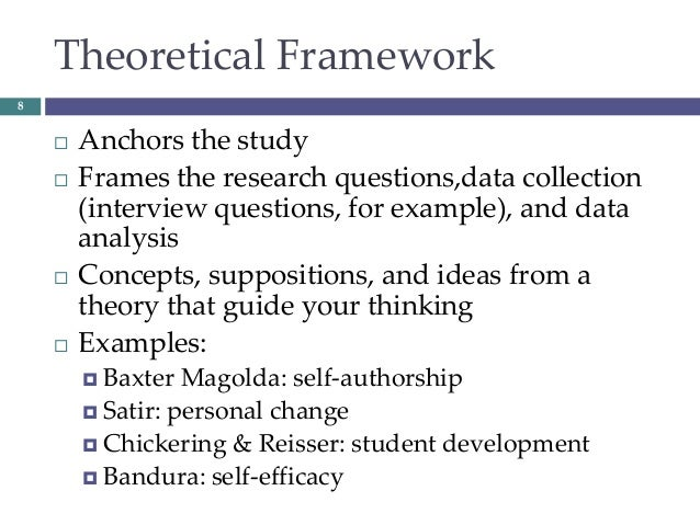 framework for research paper