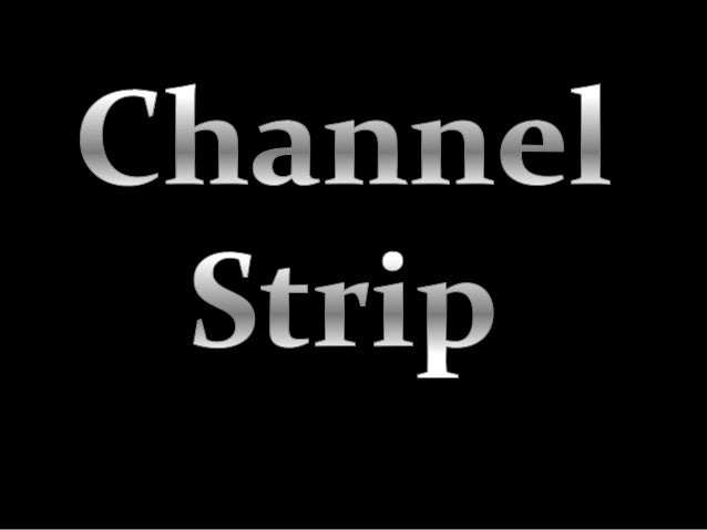 Hi, Guillermo Delgado From México City here again. I ´m coming now with this new guide about a description of channel stri...