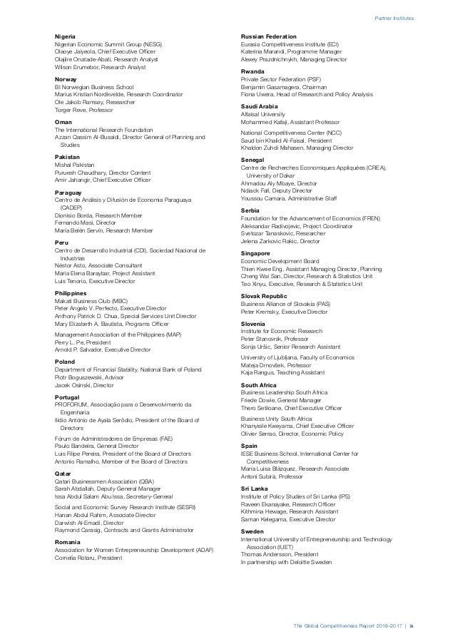 Indice de Competitividad Global de 20162017 – Advertising Slogans Worksheet