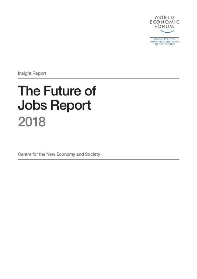 WEF Future of Jobs 2018 Slide 3