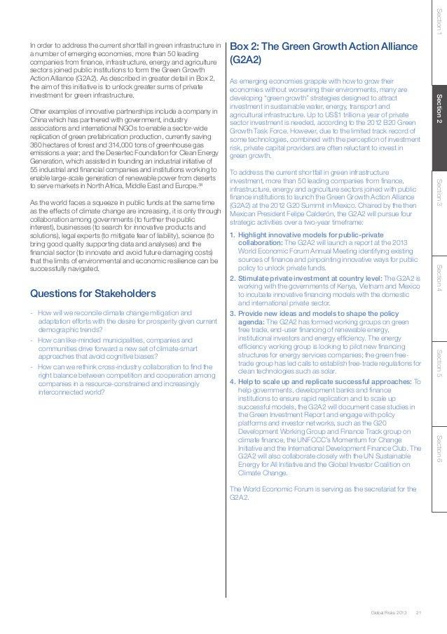 WEF Global Risks 2013