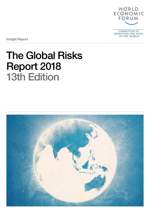 The Global Risks Report 2018 13th Edition Insight Report