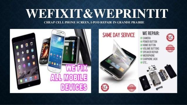 Cheap Cell Phone Screen, I-pod Repair in Grande Prairie