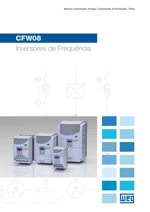 Motores | Automação | Energia | Transmissão & Distribuição | TintasCFW08Inversores de Frequência