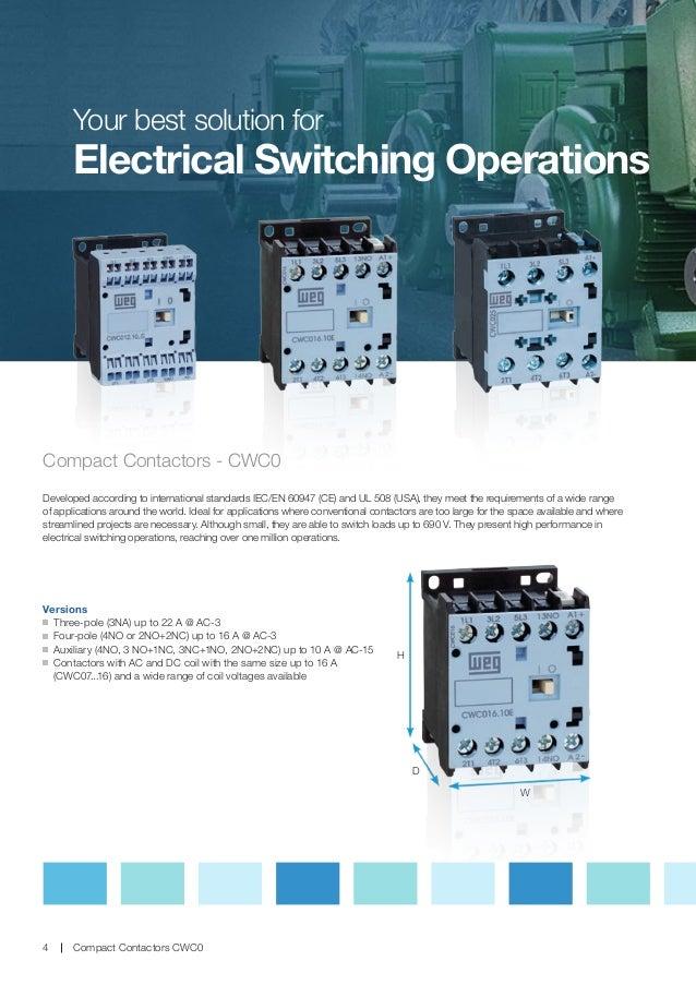 CWC - Contactor  Pole Contactor No Nc Wiring Diagram on
