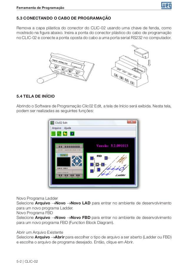 9a86aa35e37 Weg rele-programavel-clic-02-3rd-manual-portugues-br