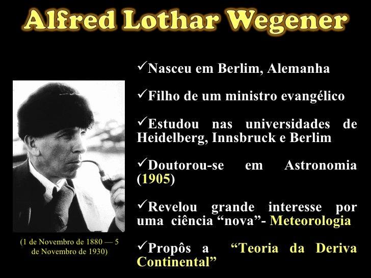 <ul><li>Nasceu em Berlim, Alemanha </li></ul><ul><li>Filho de um ministro evangélico </li></ul><ul><li>Estudou nas univers...