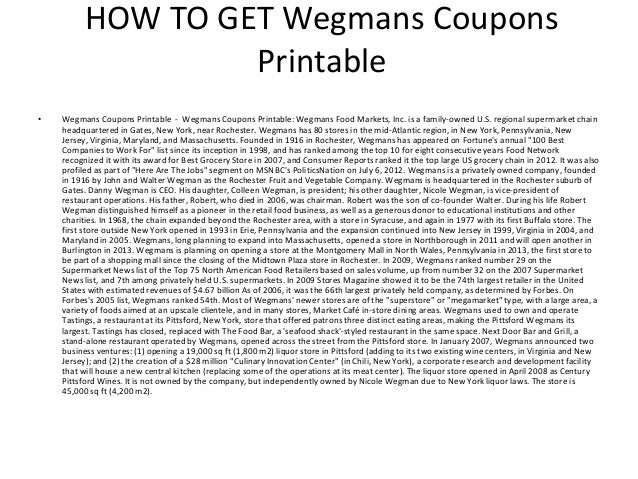photo relating to Wegmans Printable Coupons named Wegmans Discount coupons Printable - Wegmans Discount codes Printable