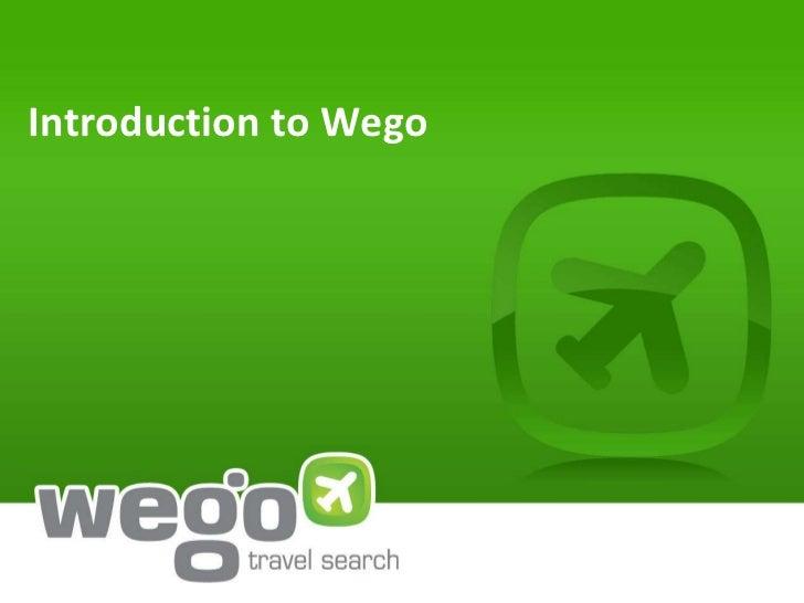Introduction to Wego