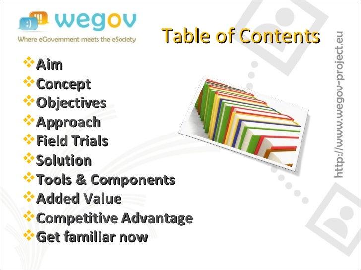 WeGov updated generic presentation Slide 2