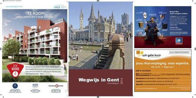 Stadsgids2013-2014 Wegwijs in Gent 2014 informatiegids Kaft Gent 2014.qxp 25/07/14 12:33 Pagina 1