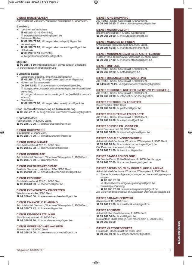 Wegwijs gent informatiegids2014