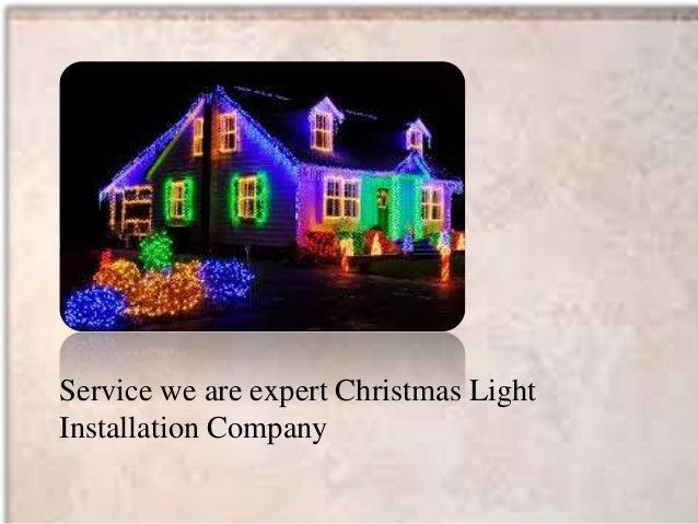 christmas light hanging service - Christmas Light Hanging Service