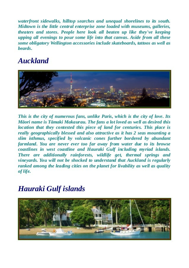 We have a variety of new zealand tour packages. Slide 2