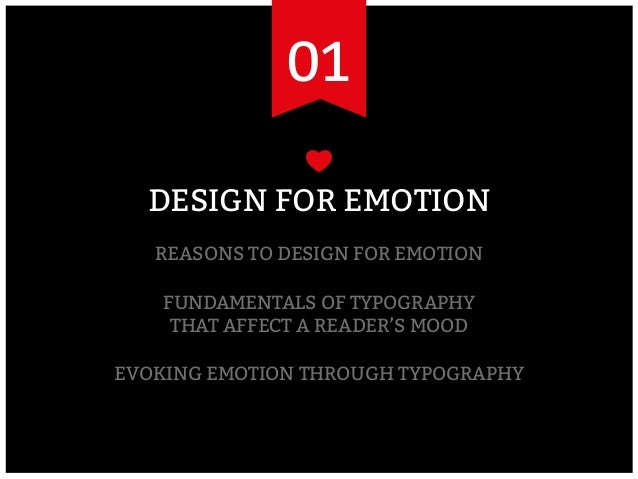 We heart it! Evoking emotion through typography Slide 3