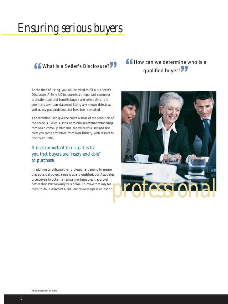 Weichert Brochure About Us - Weichert home protection plan