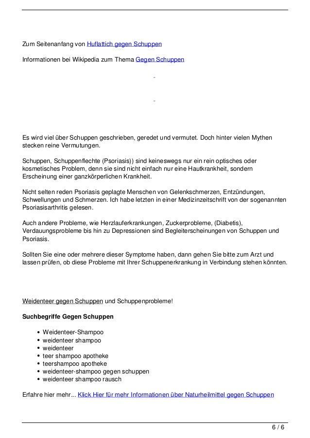 Zum Seitenanfang von Huflattich gegen Schuppen                                   Informationen bei Wikipedia zum Thema Geg...